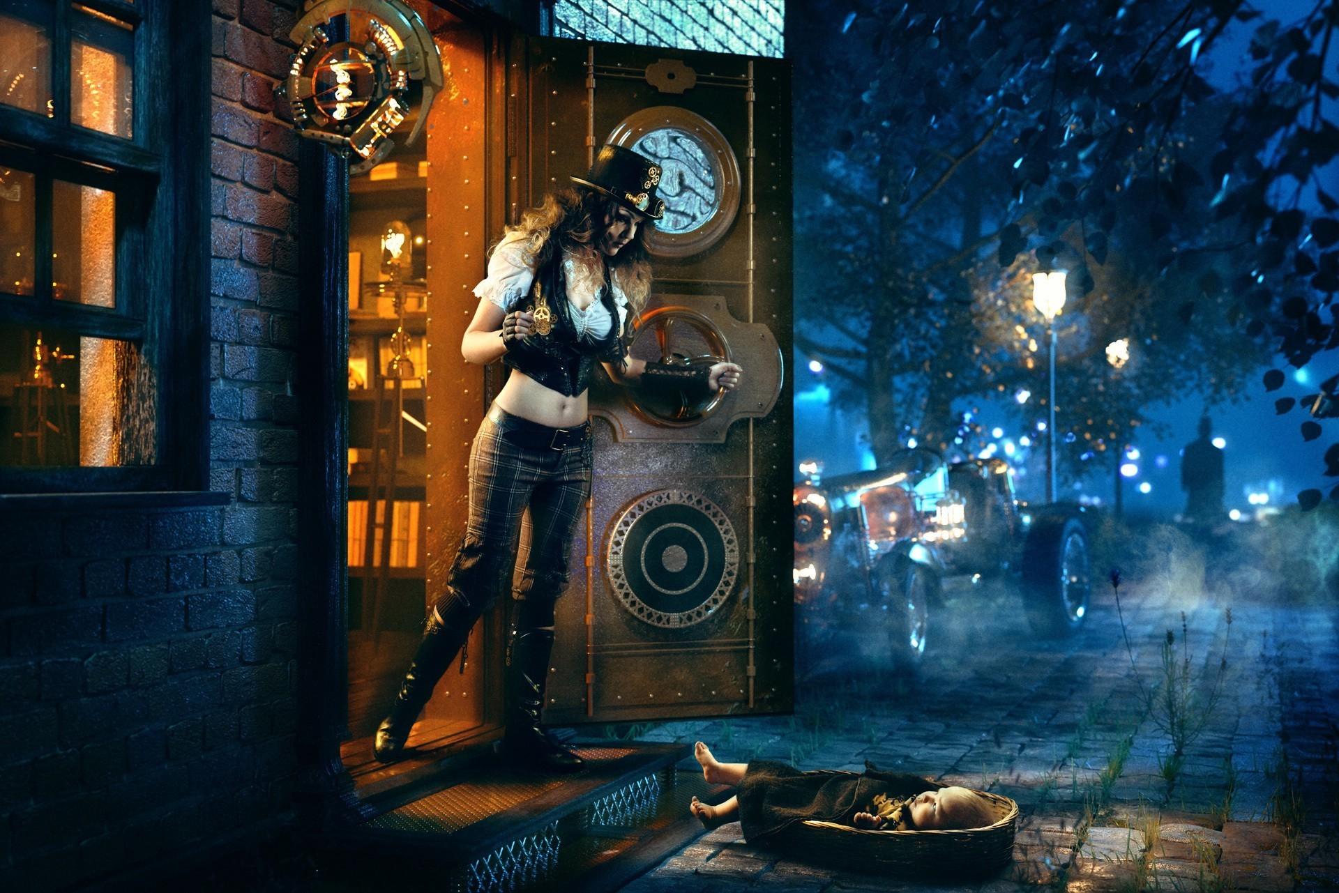 Smart Girl Wallpaper Full Hd Steampunk Desktop Background 70 Images