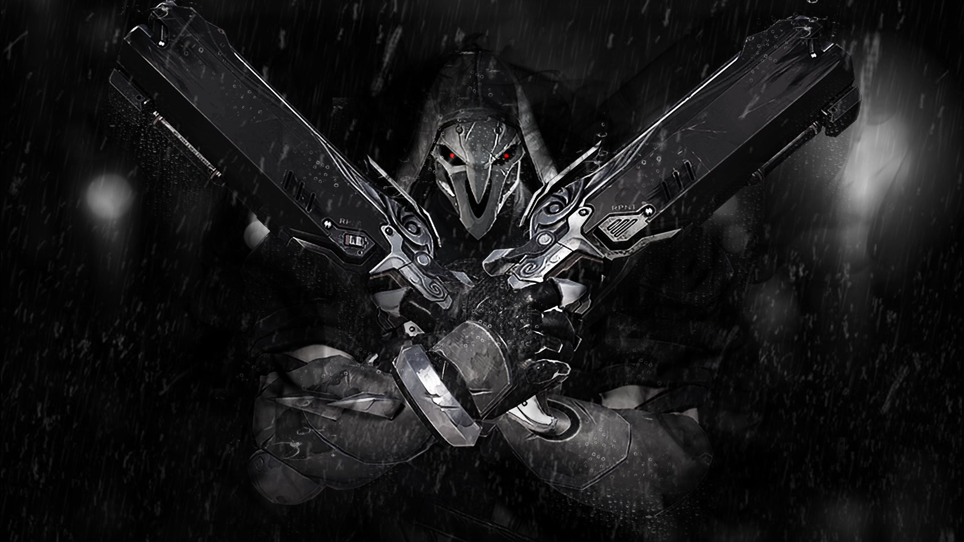 Iphone 5s Wallpaper Anime Overwatch Reaper Wallpapers 83 Images