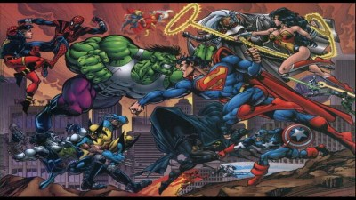 Marvel and DC Wallpaper (64+ images)