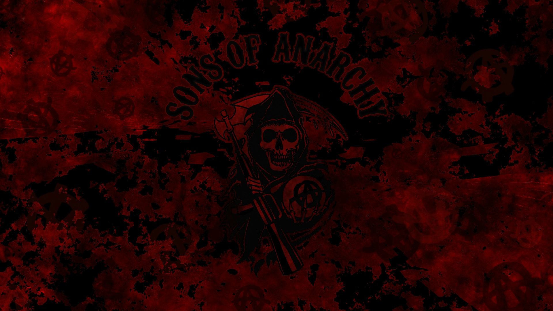 Supreme Wallpaper Girl Cartoon Sons Of Anarchy Reaper Wallpaper 67 Images