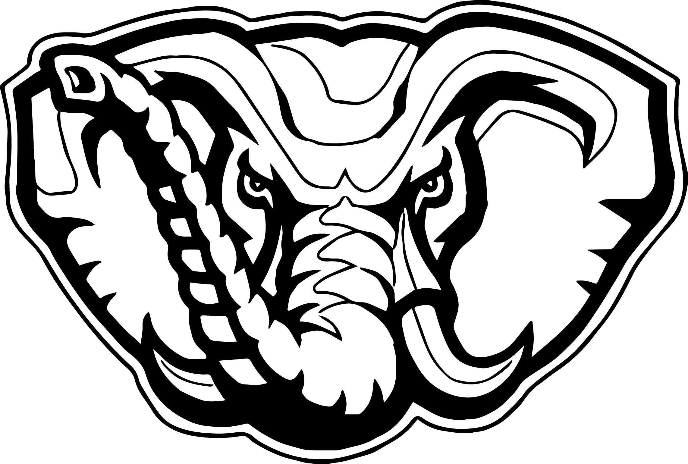 Cute Elephant Cartoon Wallpapers Alabama Crimson Tide Logo Wallpaper 61 Images