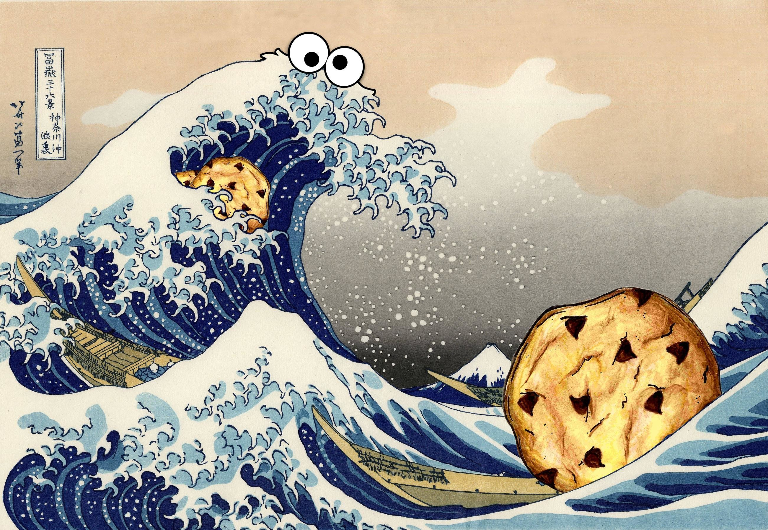 Pacman Wallpaper Iphone X Cookie Monster Wallpaper Hd 70 Images