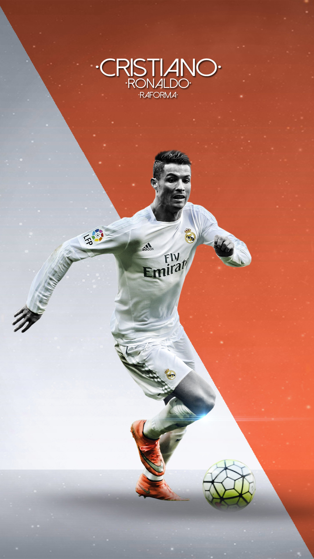 Real Madrid Iphone 4 Wallpaper Cristiano Ronaldo Wallpaper For Iphone 74 Images