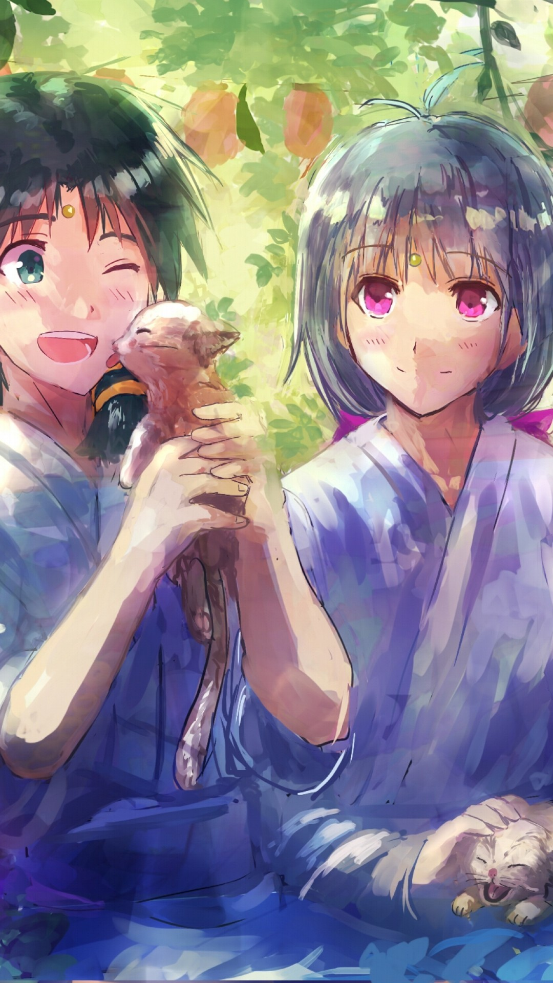 Wallpaper Girl Boy Holding Hands Anime Couple Wallpaper 74 Images