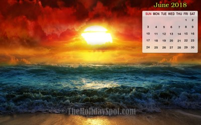 Desktop Wallpapers Calendar June 2018 (52+ images)