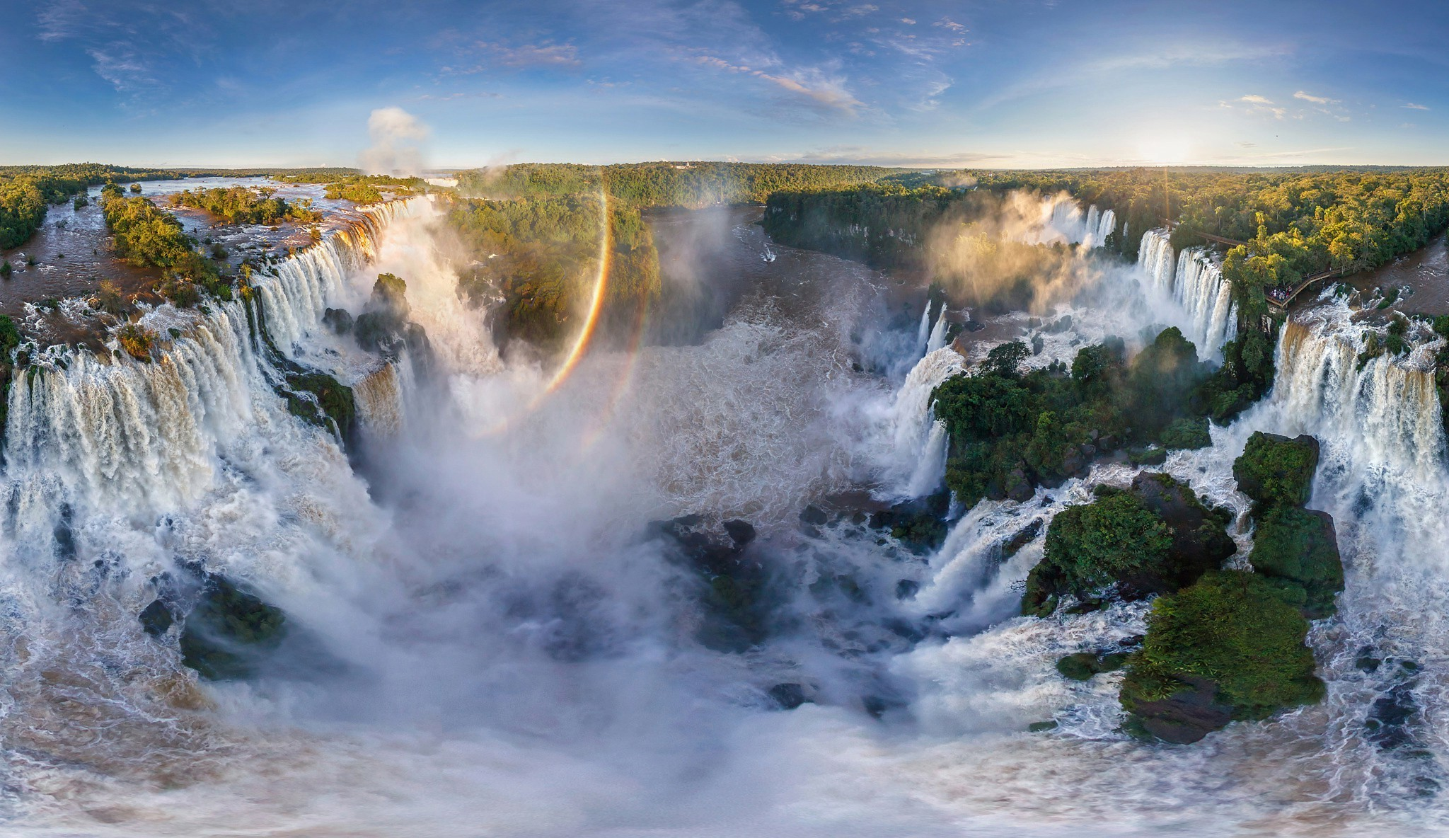 Rainbow Falls Hawaii Wallpaper Iguazu Falls Wallpaper 61 Images