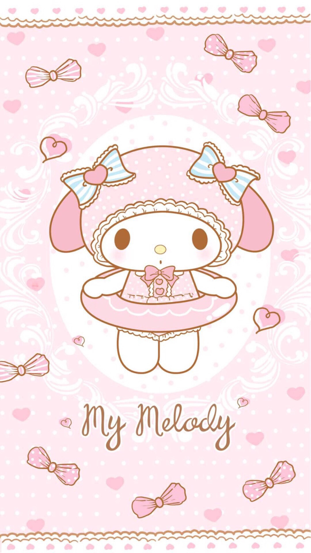 Rilakkuma Wallpaper Iphone 4 My Melody Wallpaper For Iphone 76 Images
