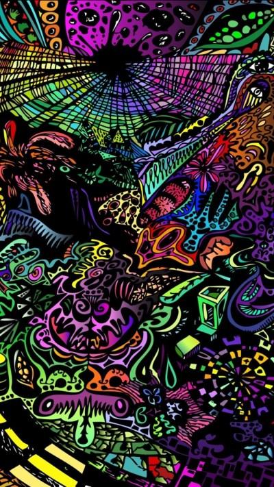 Trippy Hippie Wallpaper (54+ images)