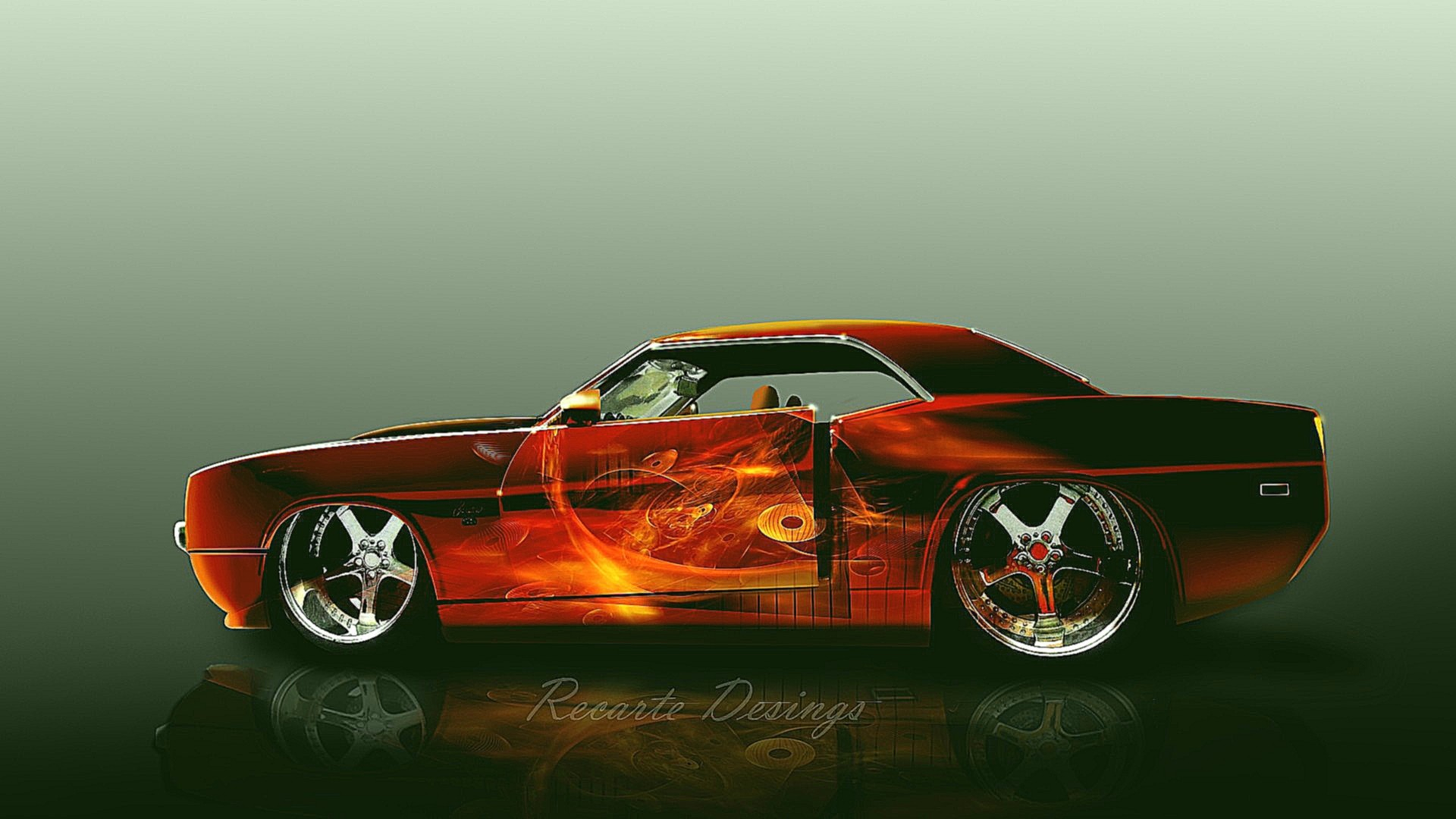 4k Wallpaper Muscle Car Custom Car Wallpapers 63 Images