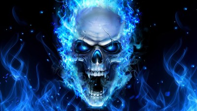 Skull and Flame Wallpaper (62+ images)
