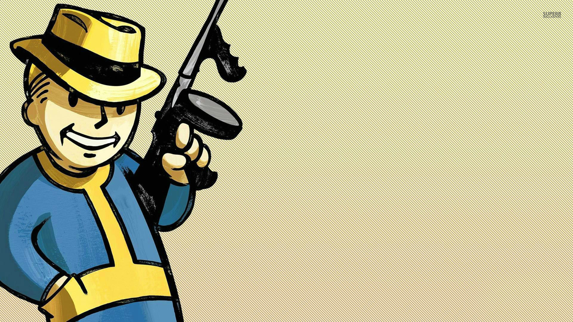 Wallpaper Iphone 5 Cartoon Vault Boy Wallpaper 73 Images