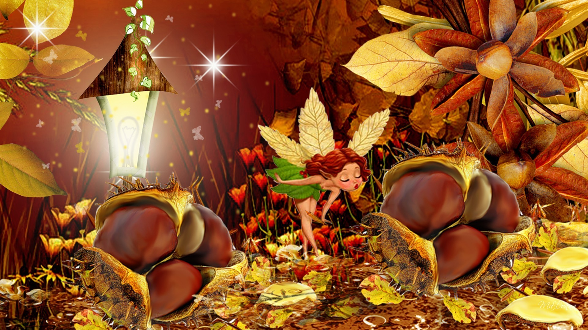 Fall Leaves Live Wallpaper Iphone Fall Flowers Wallpaper 49 Images