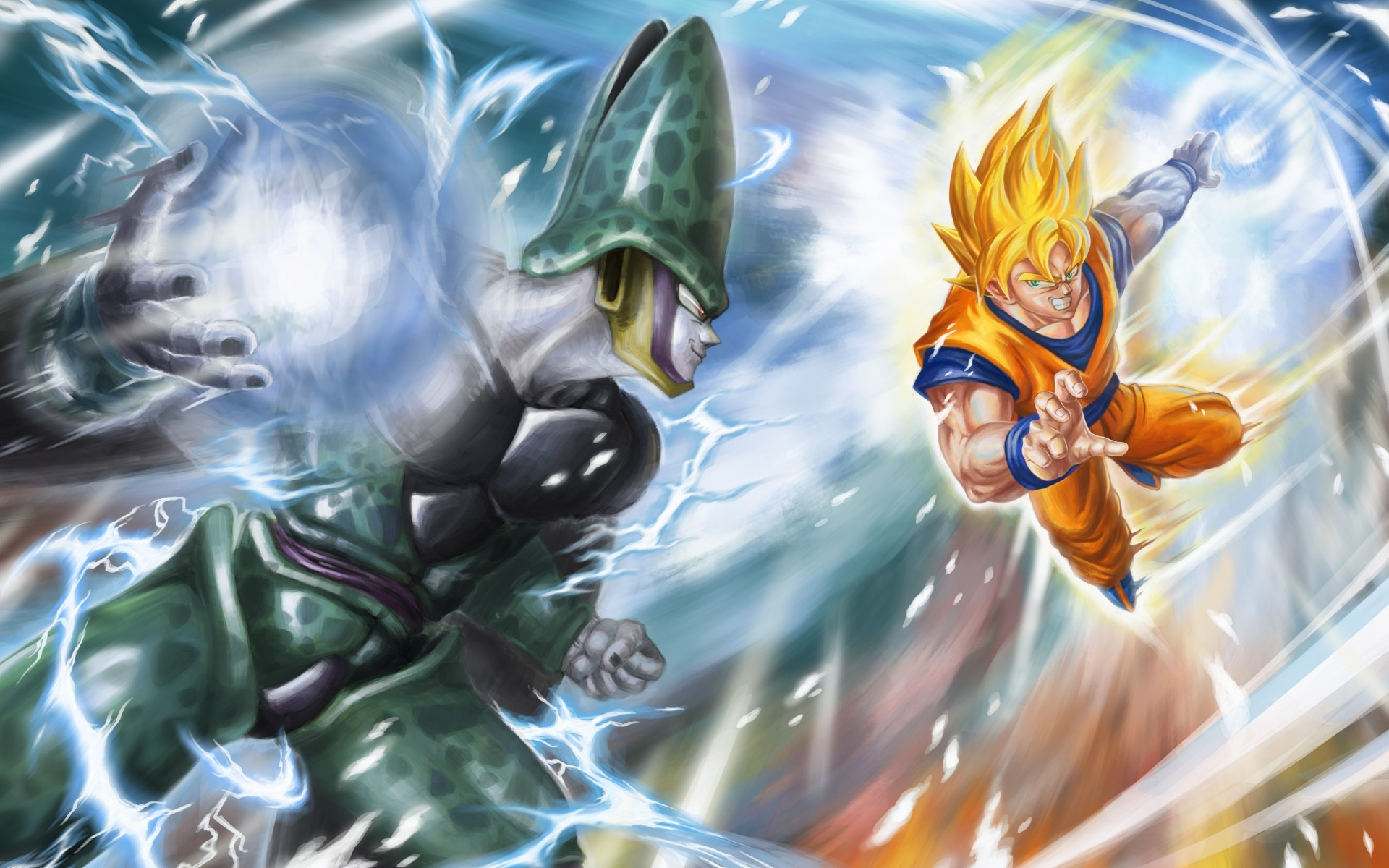 Goku Ssj Wallpaper Hd Goku Vs Broly Wallpaper 61 Images