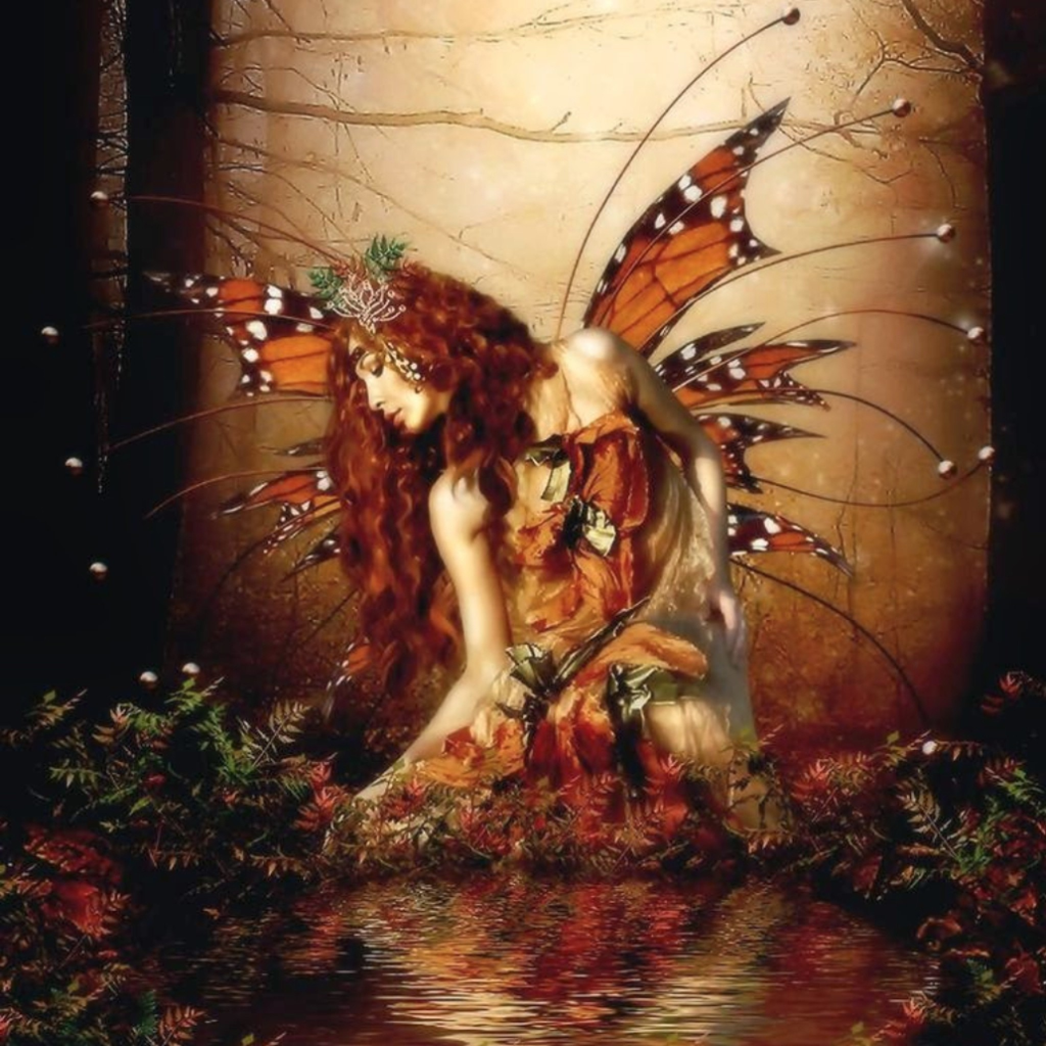 Fall Fairys Wallpapers Faerie Wallpaper 58 Images