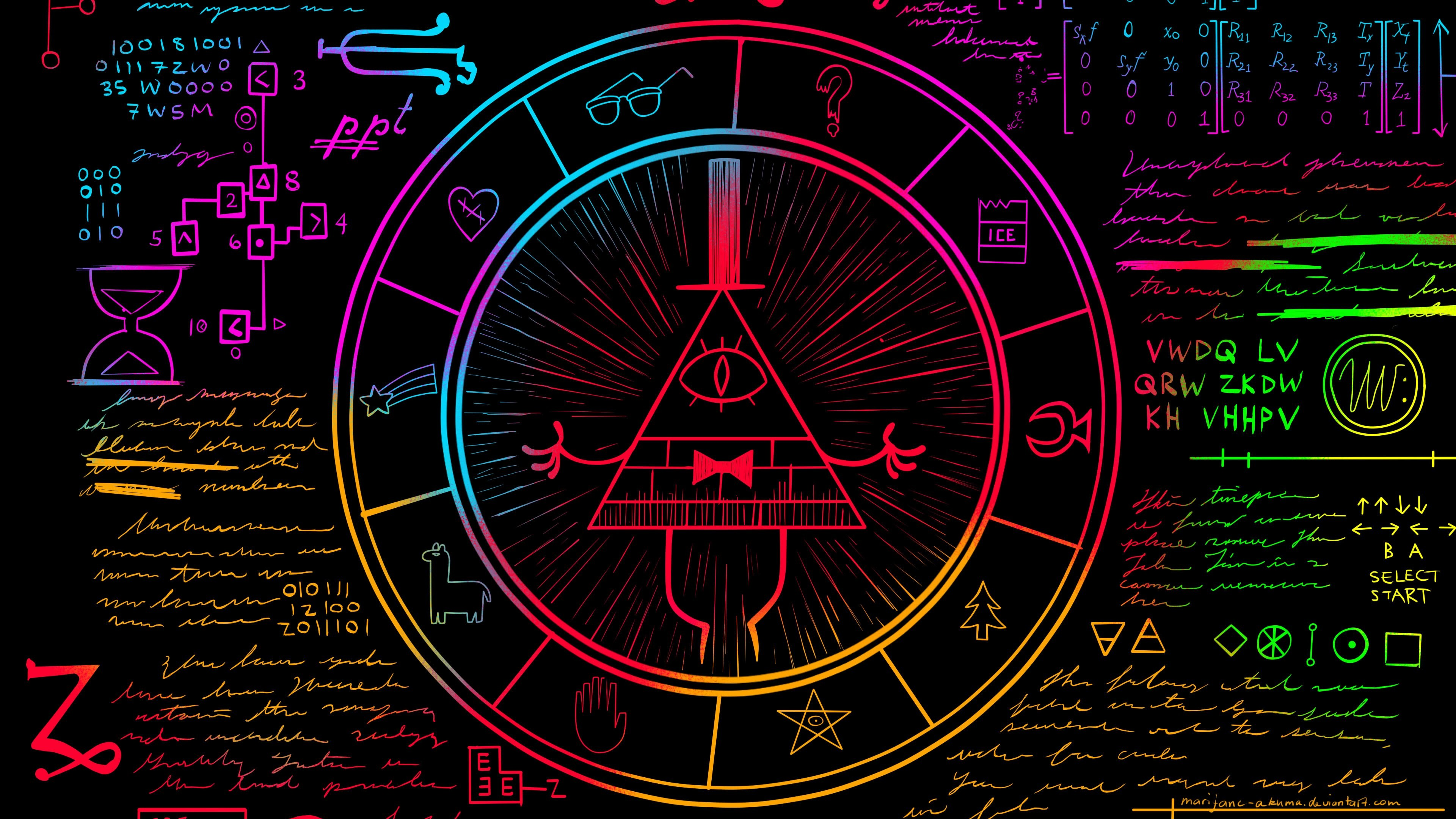 Gravity Falls Iphone 5 Wallpaper Gravity Falls Bill Cipher Wallpaper 80 Images