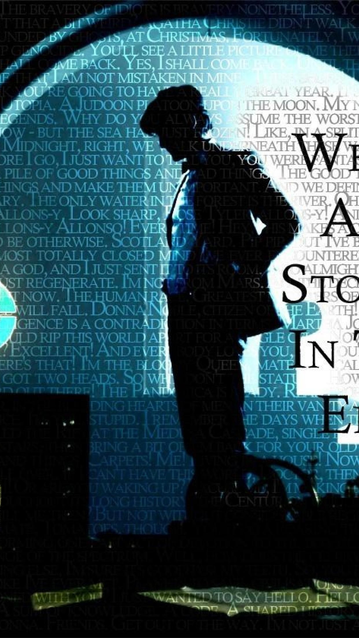 Motivational Quotes Hd Mobile Wallpaper Doctor Who Quote Wallpapers 66 Images