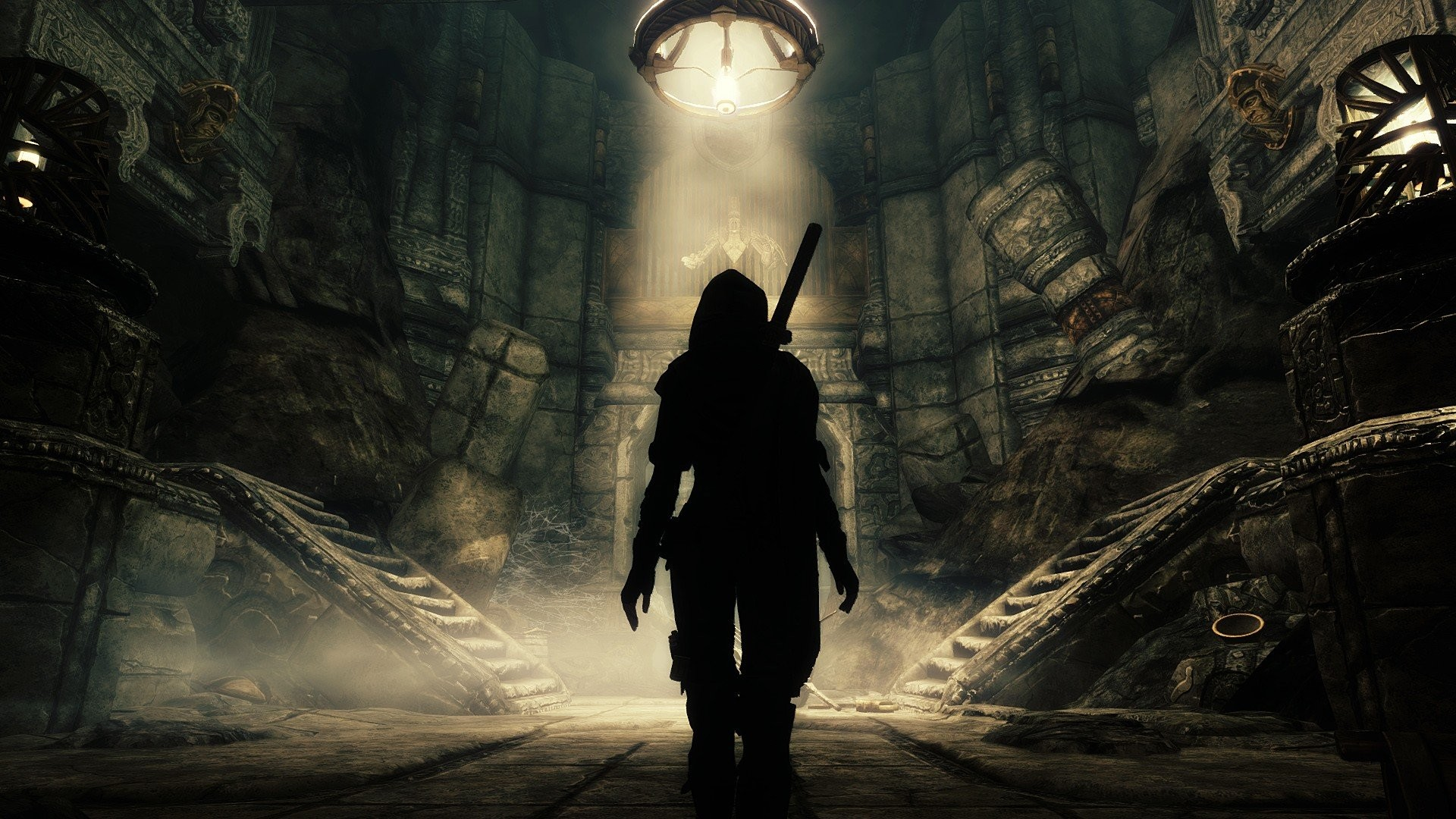 Awesome Wallpapers Girl Sniper Skyrim Dawnguard Wallpaper 76 Images