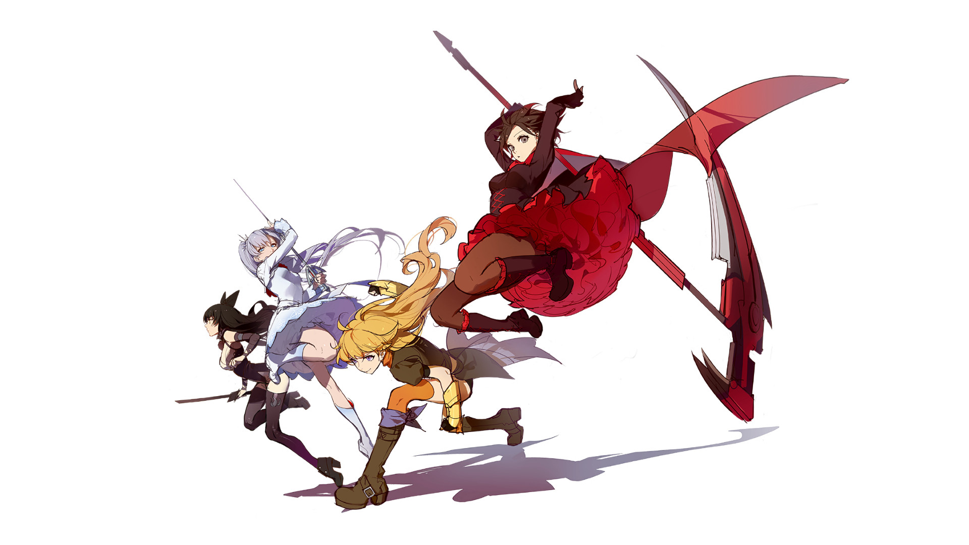 Fight Like A Girl Wallpaper Galaxy S8 Rwby Desktop Wallpaper 72 Images