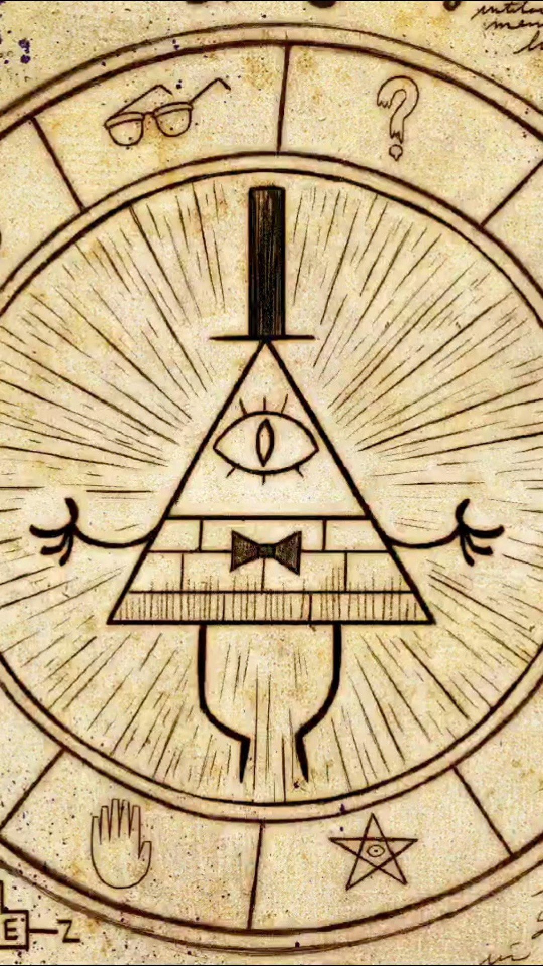 Reverse Falls Will Wallpaper Bill Cipher Wheel Wallpaper 66 Images