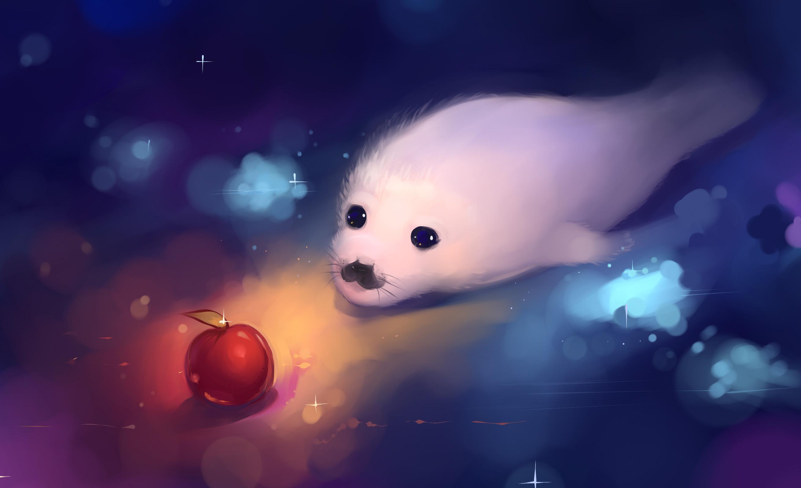 Cute Panda Iphone Wallpapers Cute Anime Animals Wallpaper 63 Images