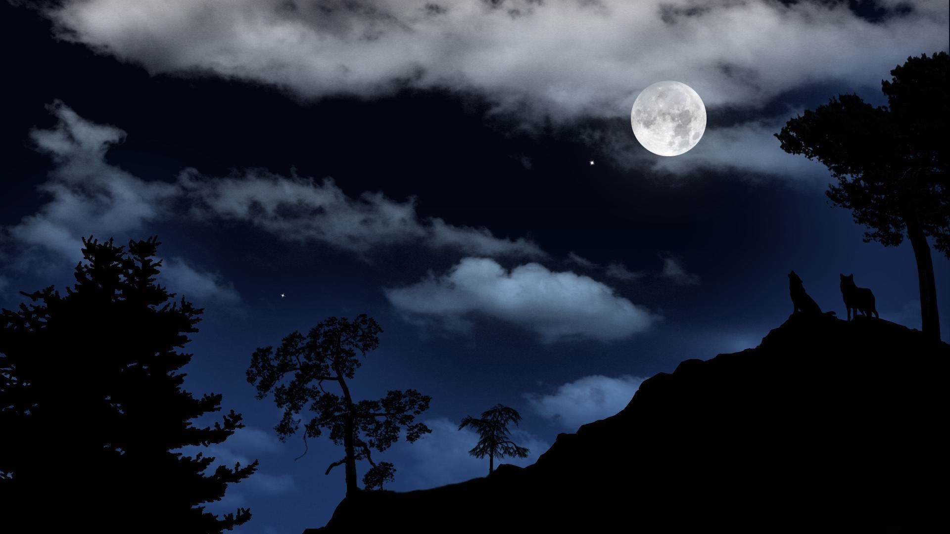 Images Of Hd Love Wallpapers Wolf Howling At The Moon Wallpaper 66 Images