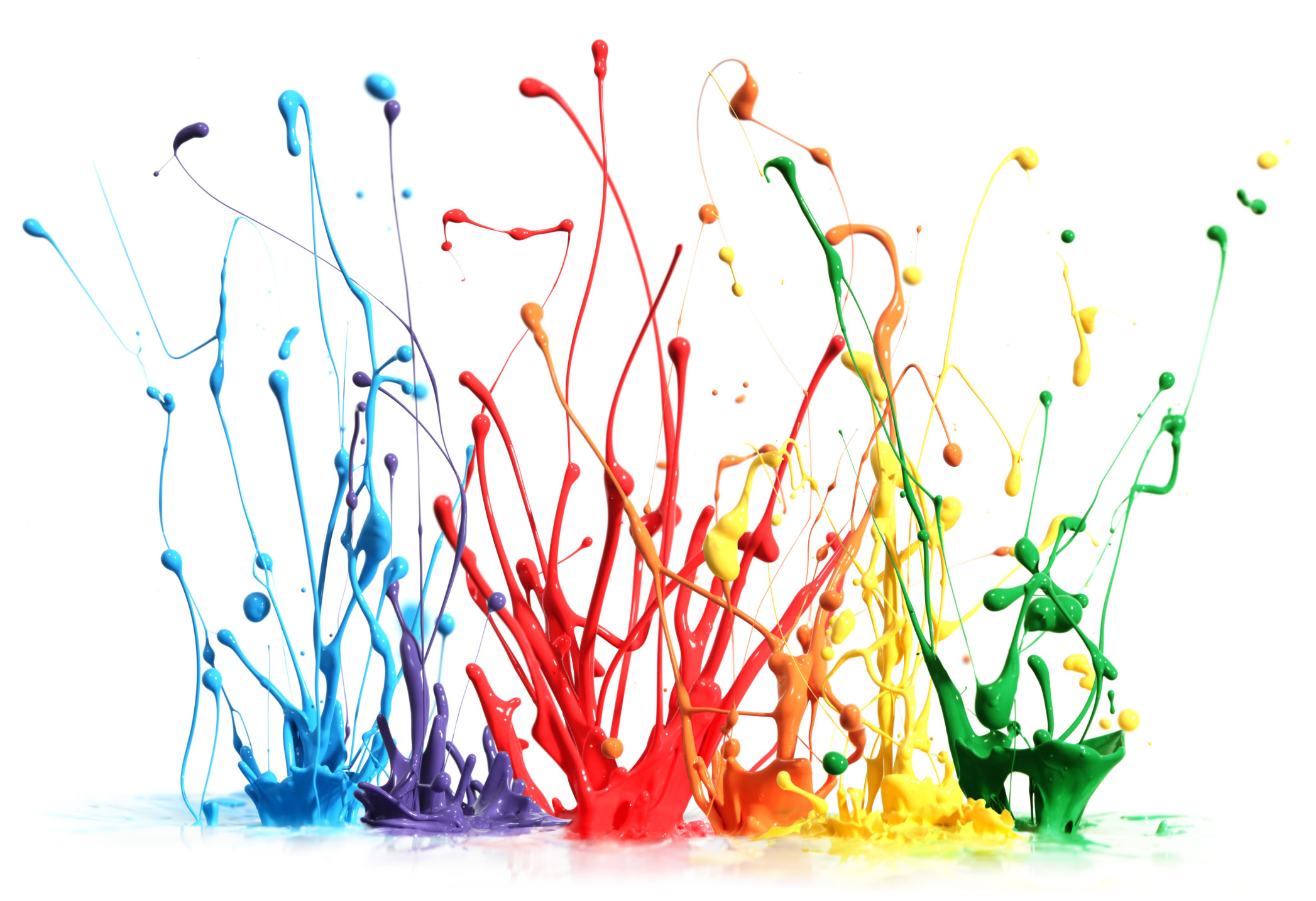 Cool 3d Abstract Wallpapers Paint Splatter Wallpaper 73 Images