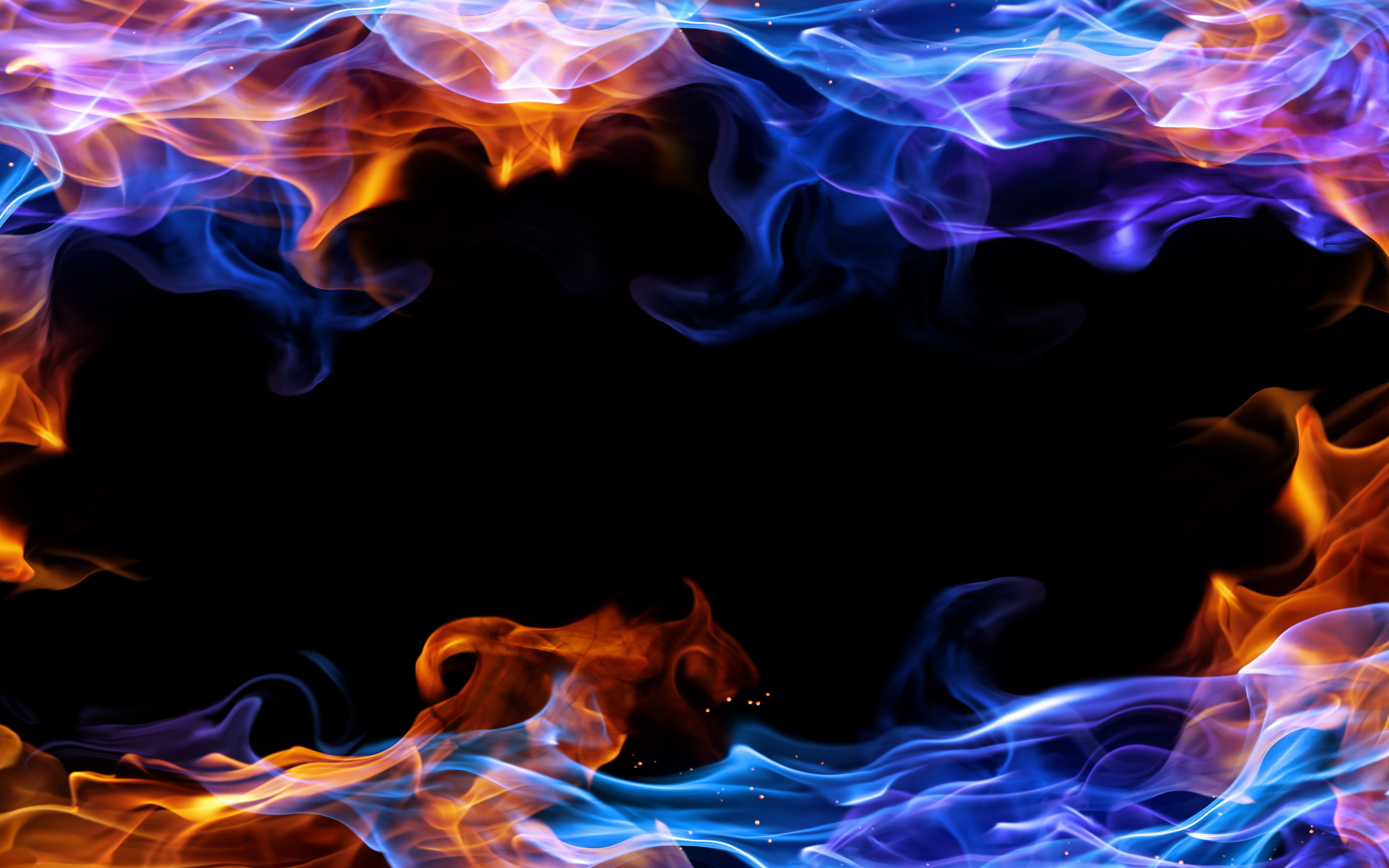 Brandweer Behang Blue Fire Wallpaper Hd 70 43 Images