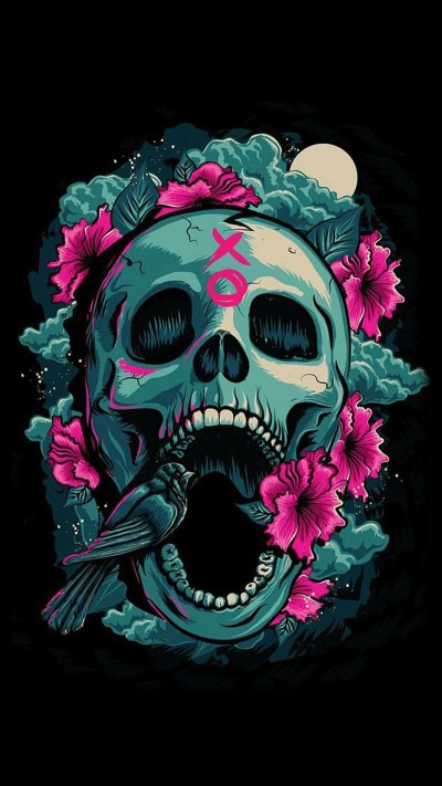 Sugar Skull Wallpaper for iPhone (62+ images)