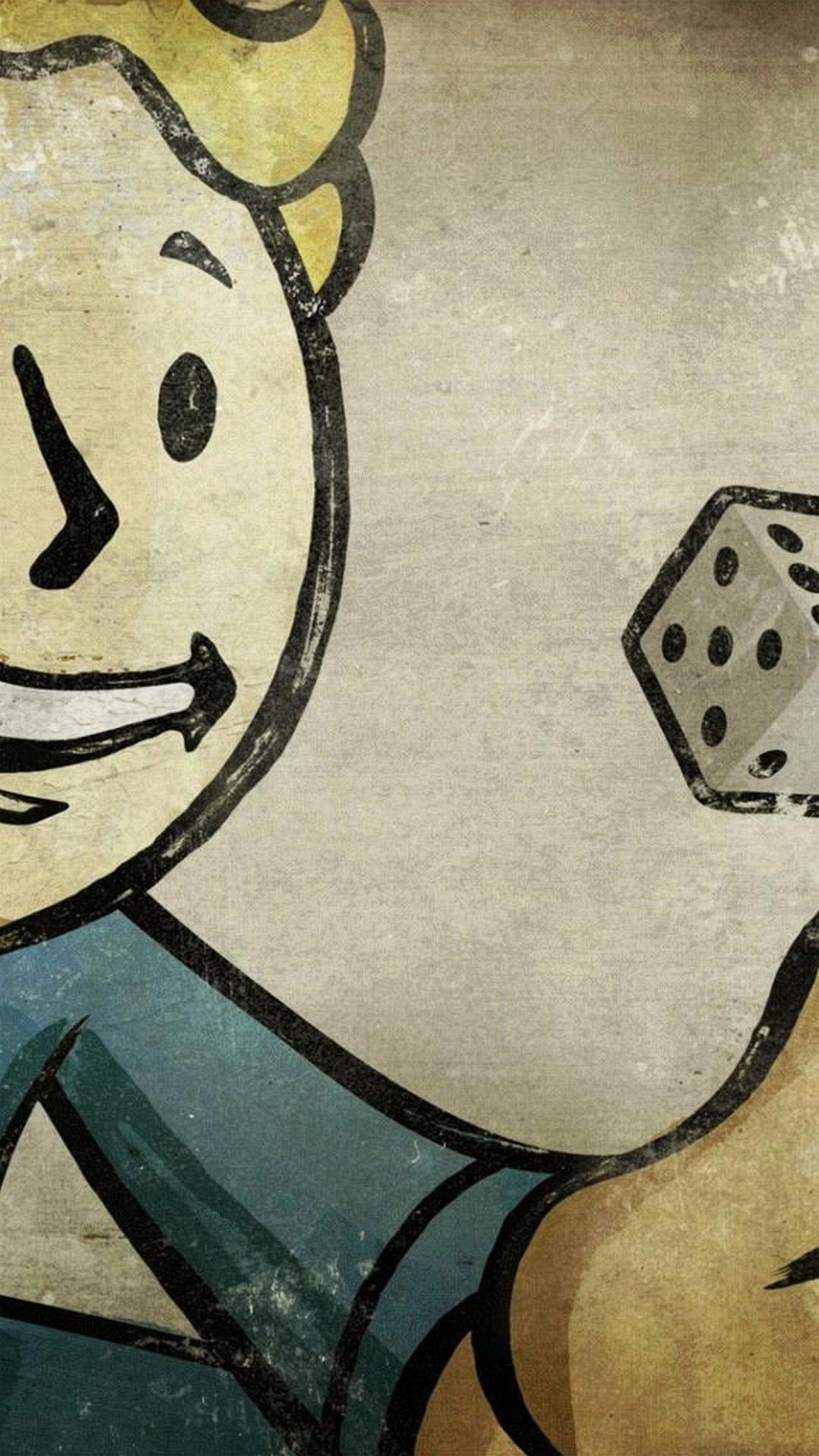Fall Out Boy Wallpaper Iphone 6 Fallout 4 Vault Boy Wallpaper 74 Images