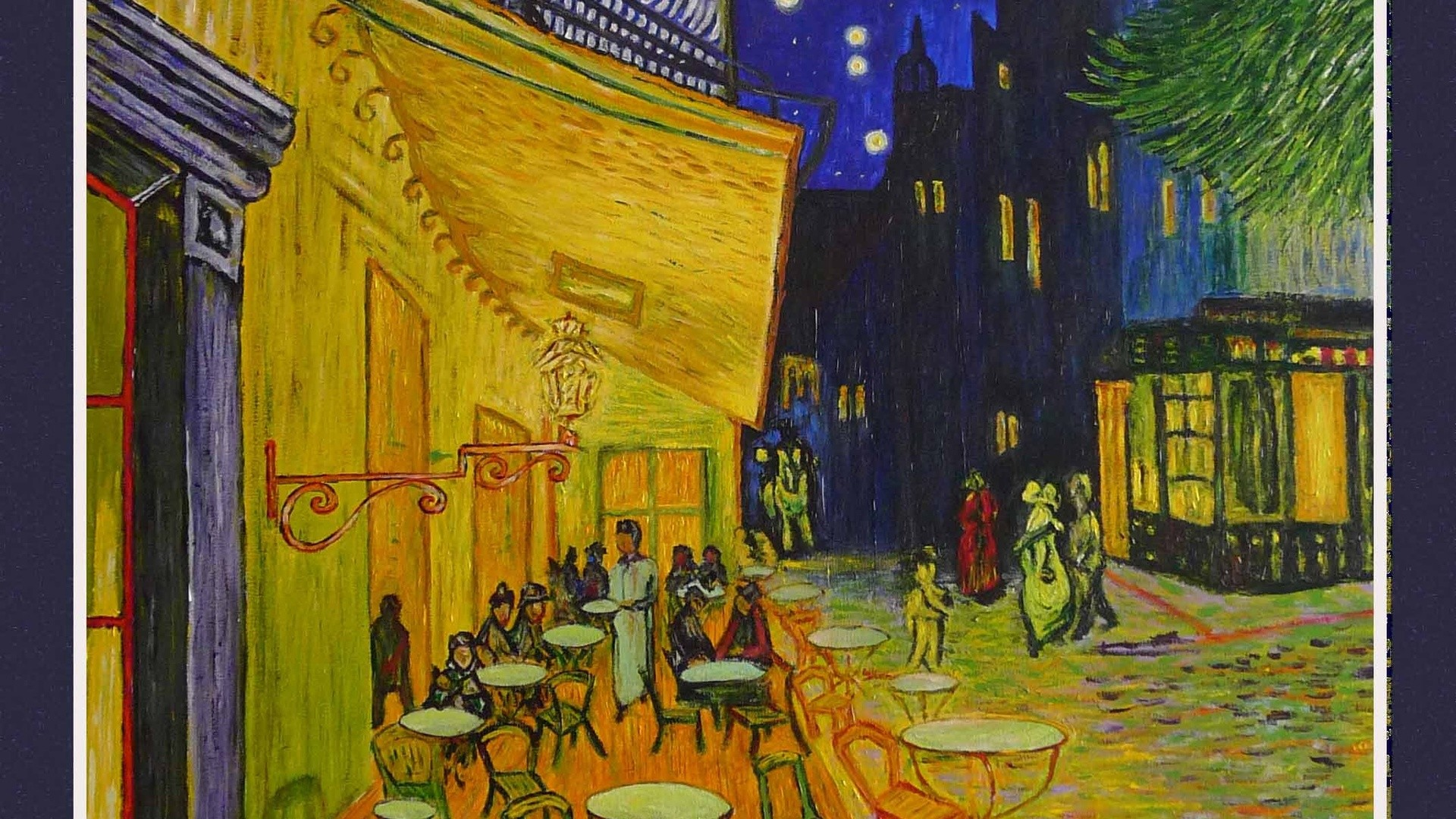 Famous Anime Wallpaper Van Gogh The Night Cafe Wallpapers 47 Images