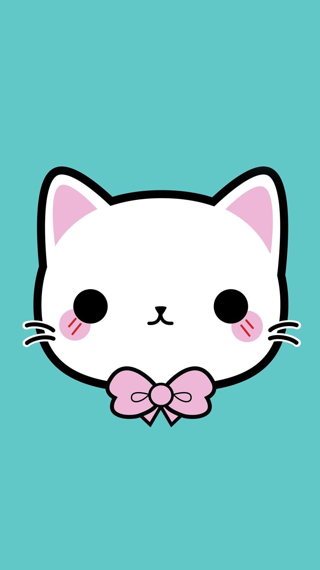 Pusheen Iphone Wallpaper Cute Cute Kawaii Wallpapers 74 Images