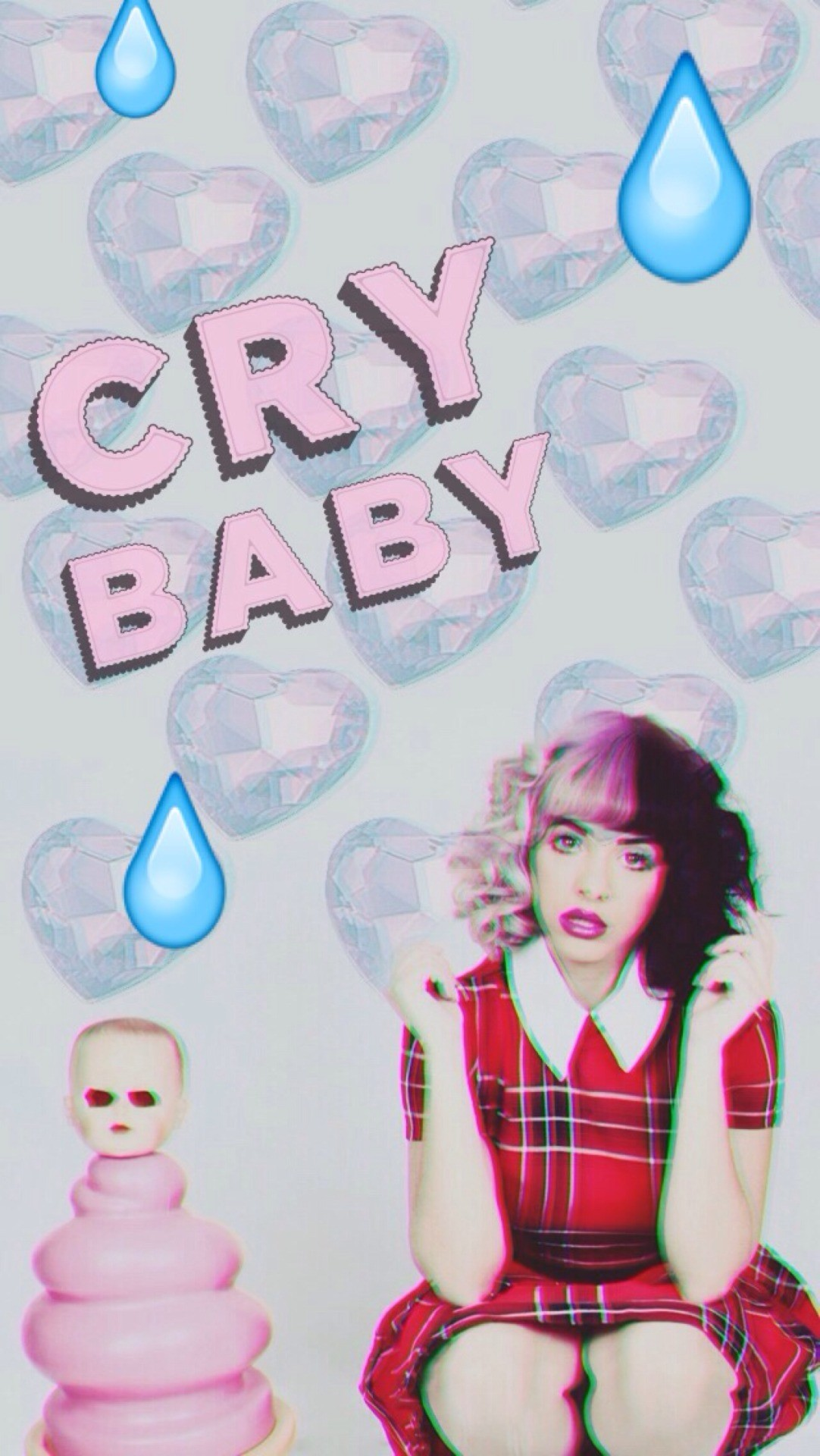 Computer Lock Screen Wallpapers Girls Melanie Martinez Cry Baby Wallpaper 56 Images