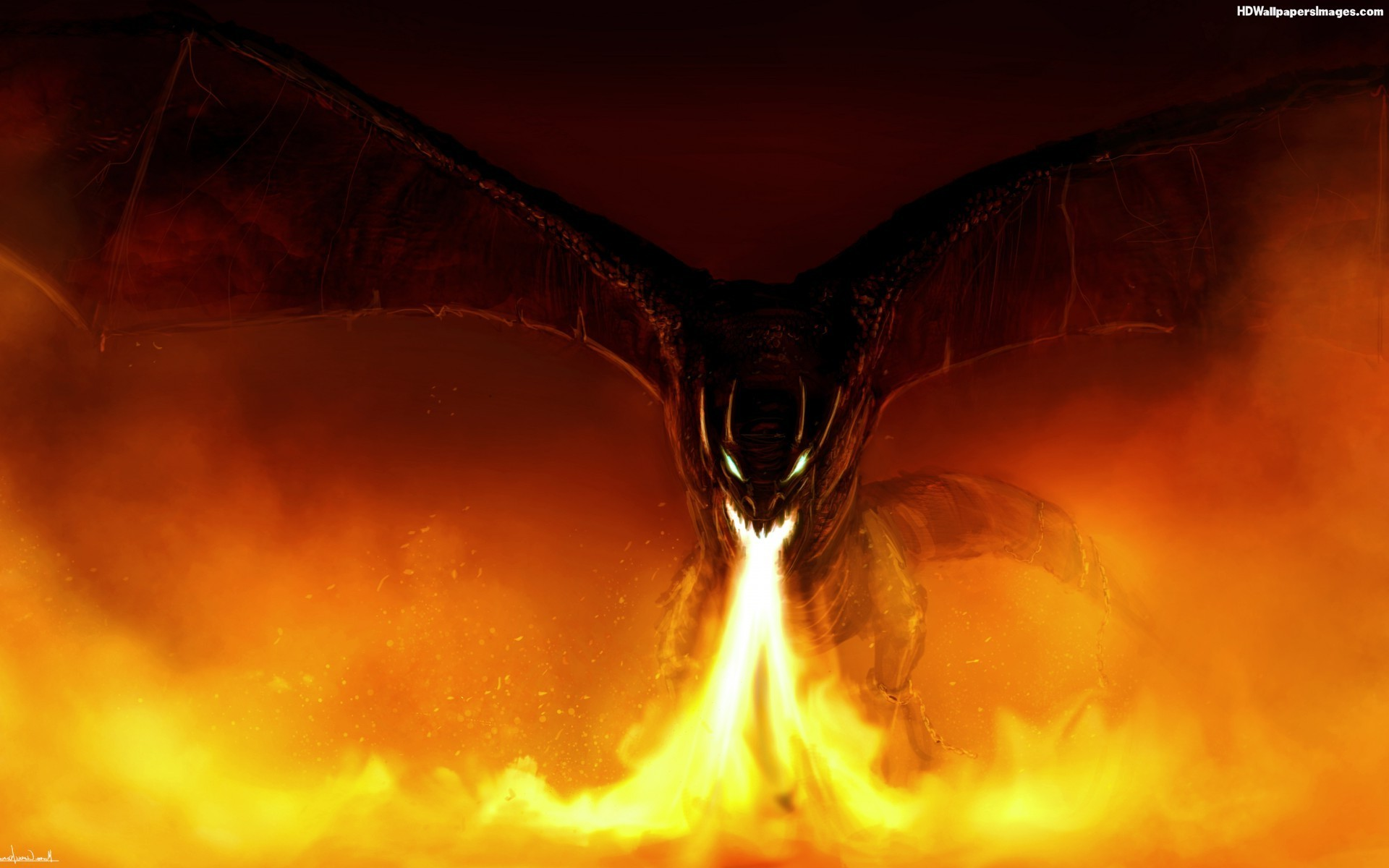 4k Fall Wallpaper Fire Dragon Wallpaper 67 Images