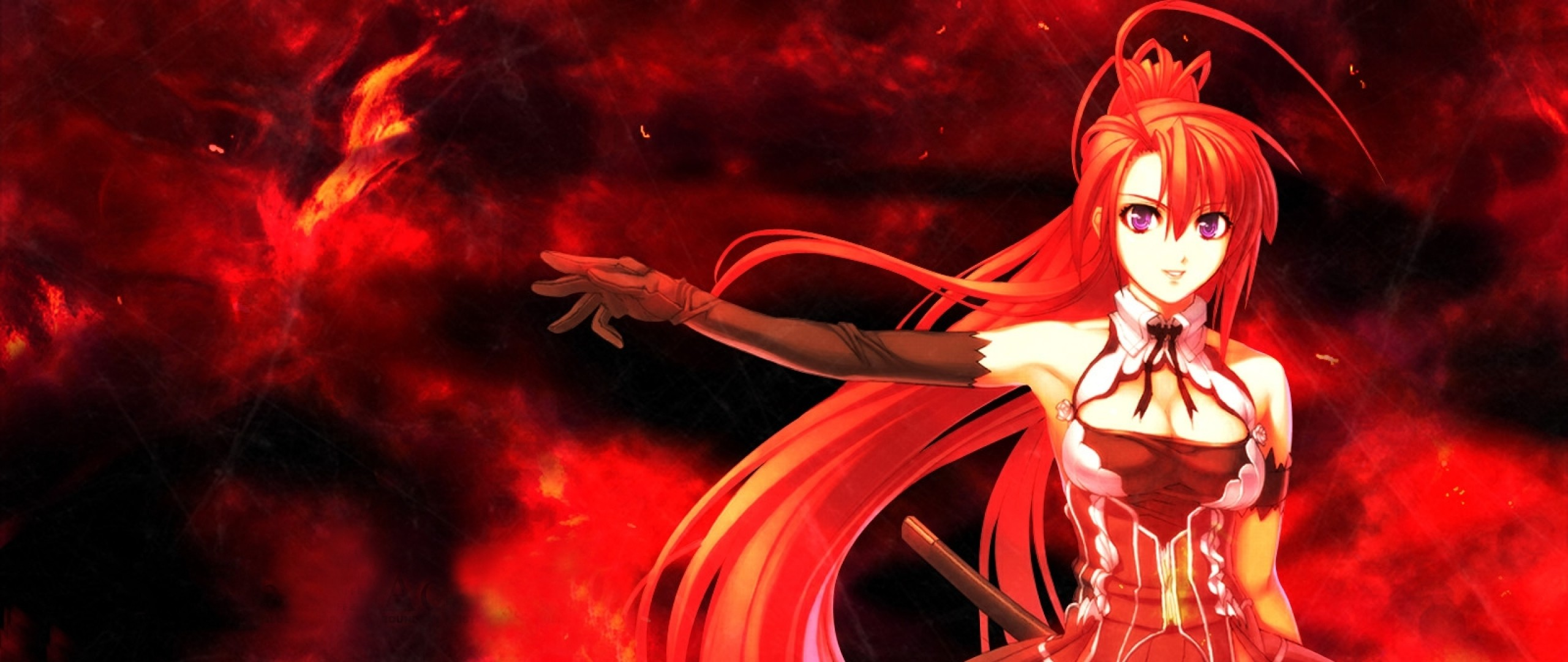 Fall Anime Wallpaper Vocaloid Red Anime Wallpaper 66 Images