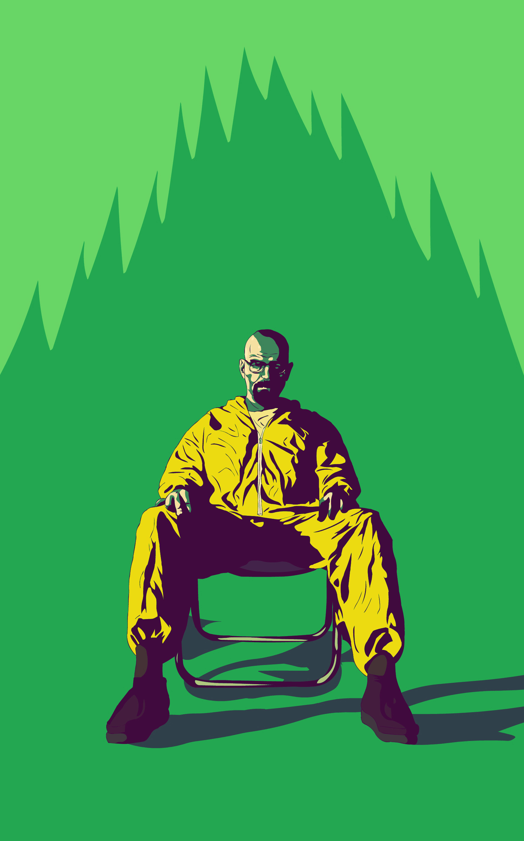 Walter White Iphone 5 Wallpaper Breaking Bad Wallpaper All Hail The King 62 Images
