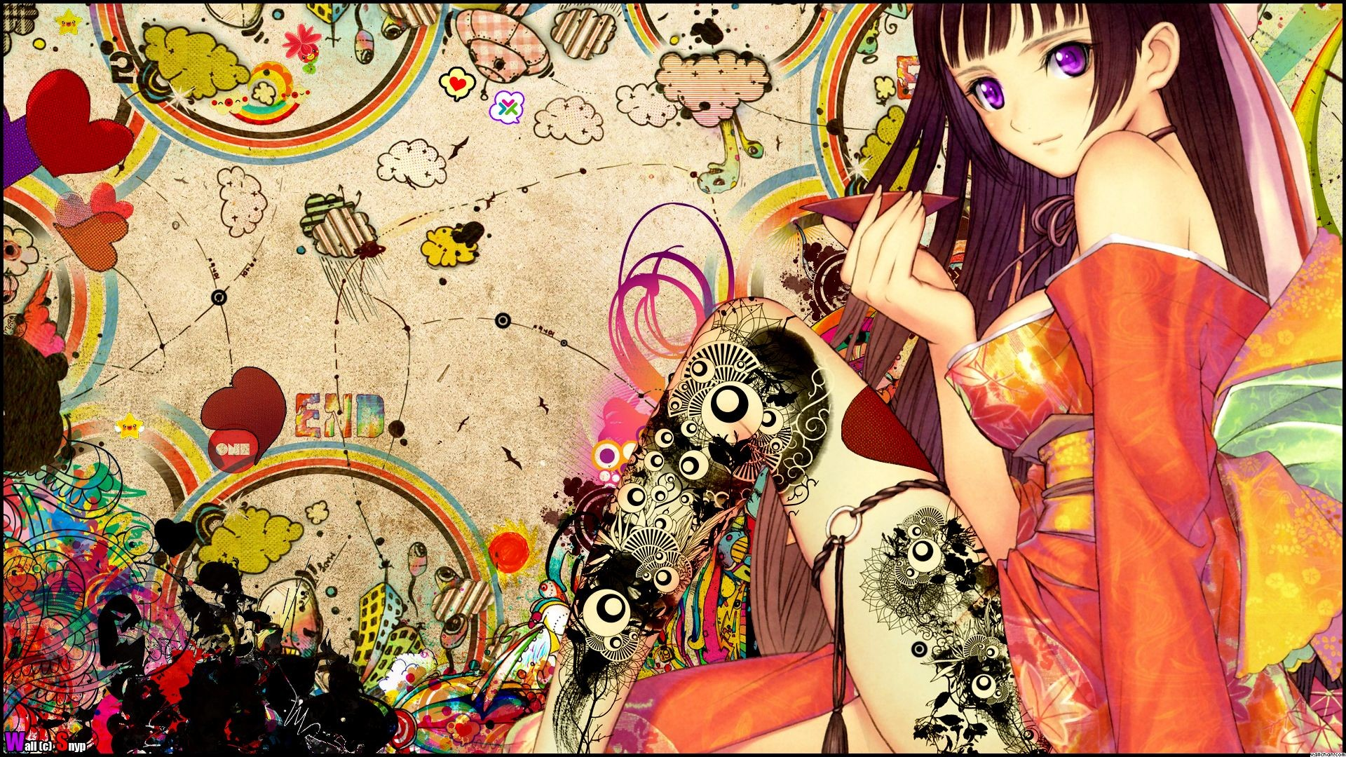 Kimono Wall Art - Elitflat