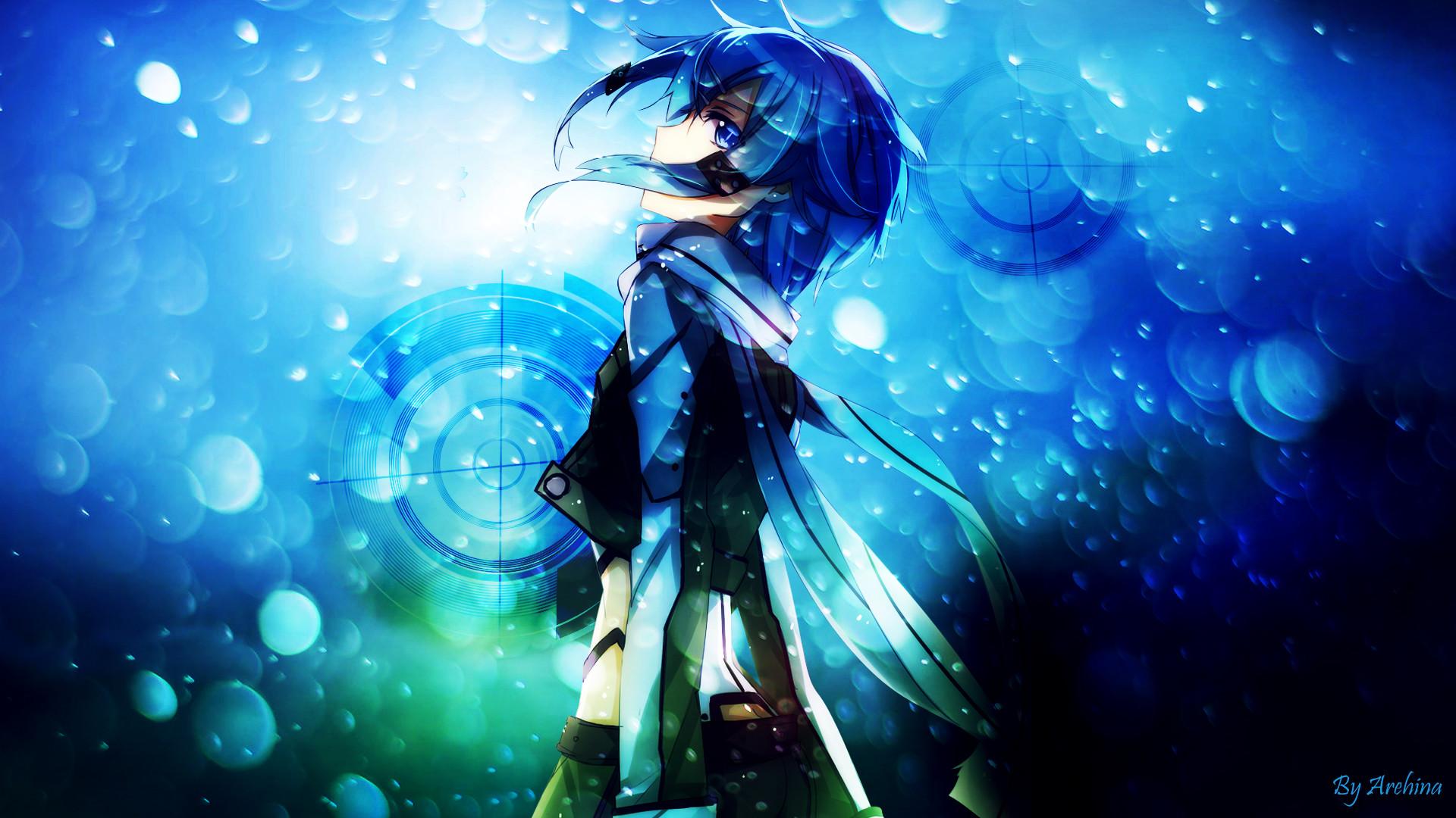 Anime Sniper Girl Wallpaper Hd Sword Art Online Sinon Wallpaper 76 Images