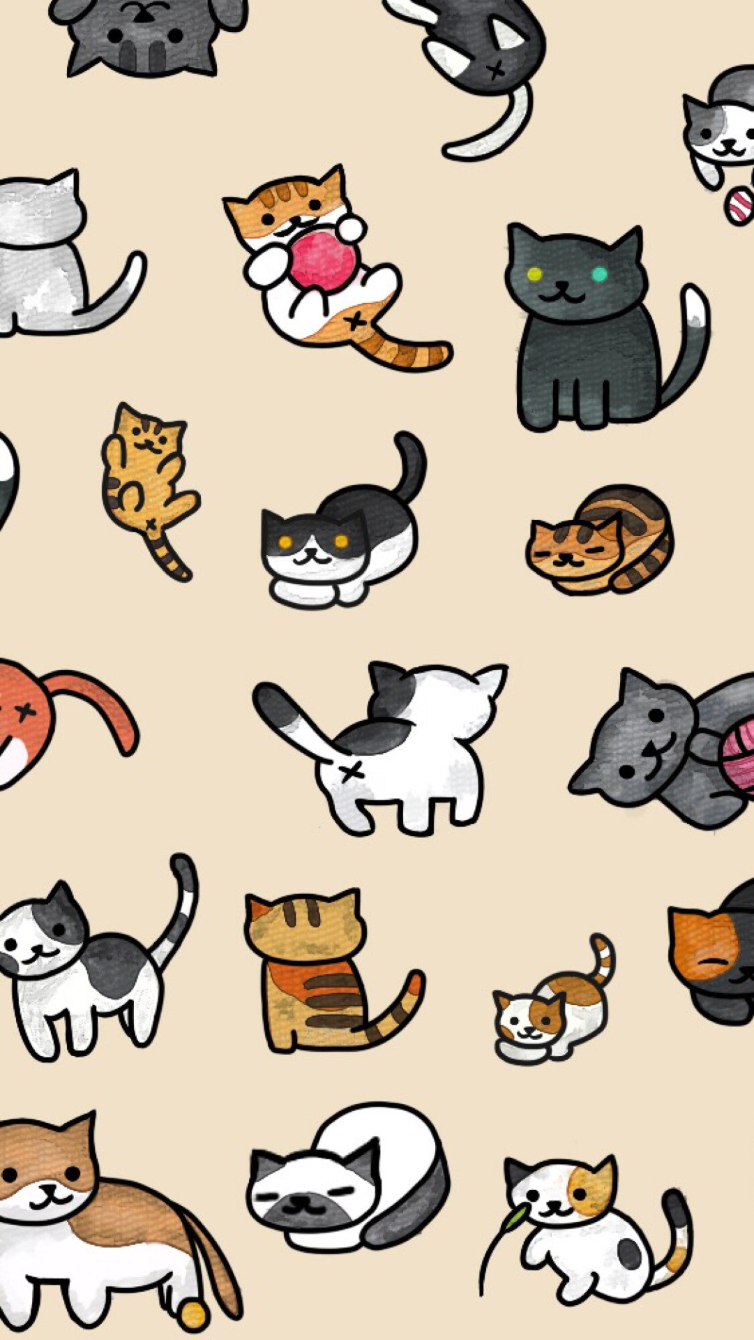 Cute Kitty Wallpapers Download Pusheen The Cat Wallpapers 44 Images