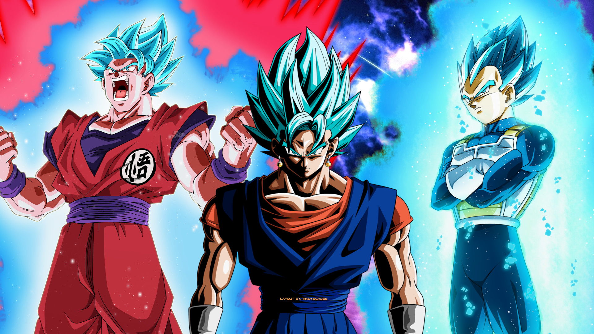 Dbz 3d Wallpapers Vegito Wallpapers Hd 55 Images