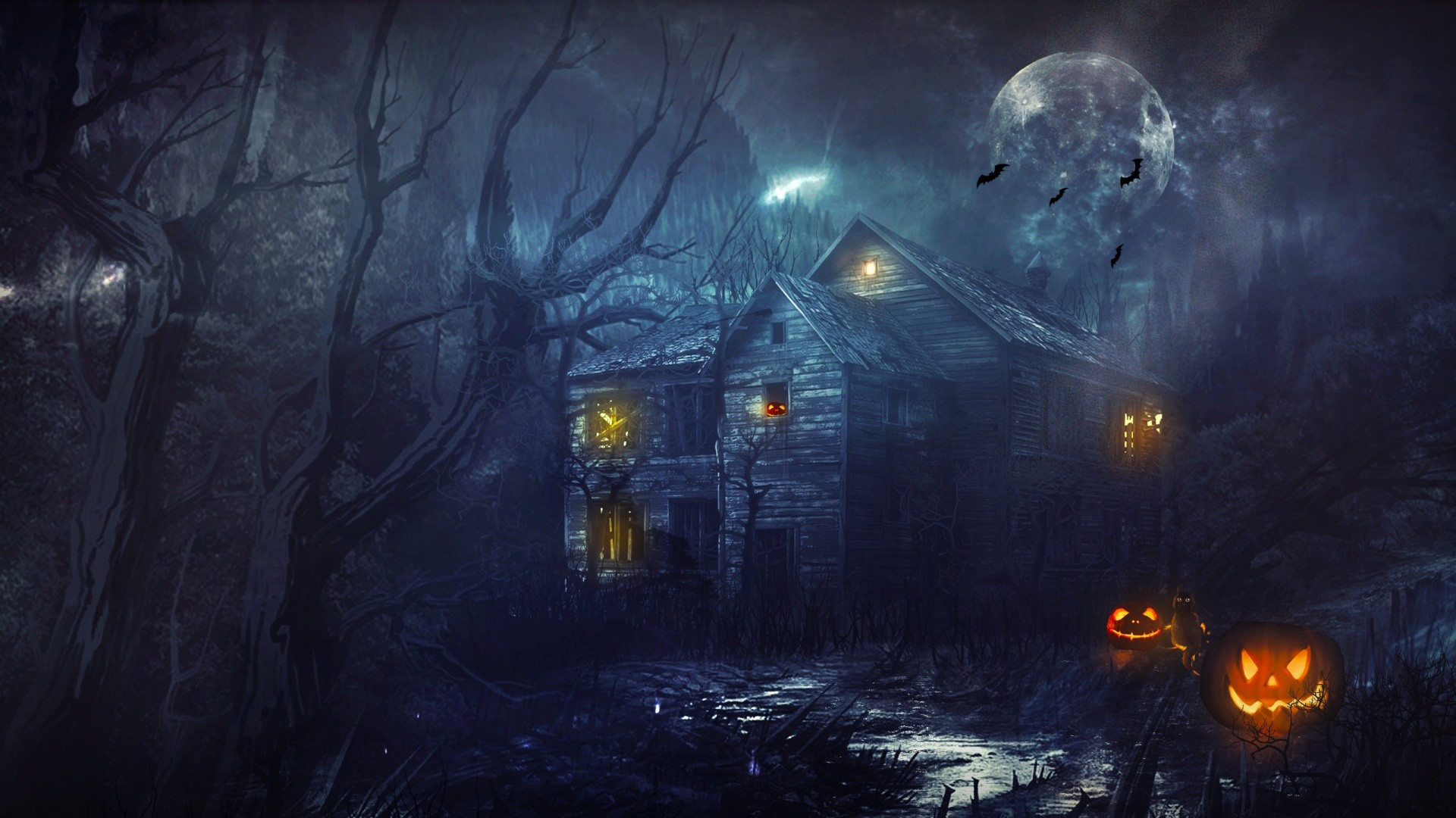 Haunted House 3d Live Wallpaper Download 3d Haunted House Wallpaper 59 Images