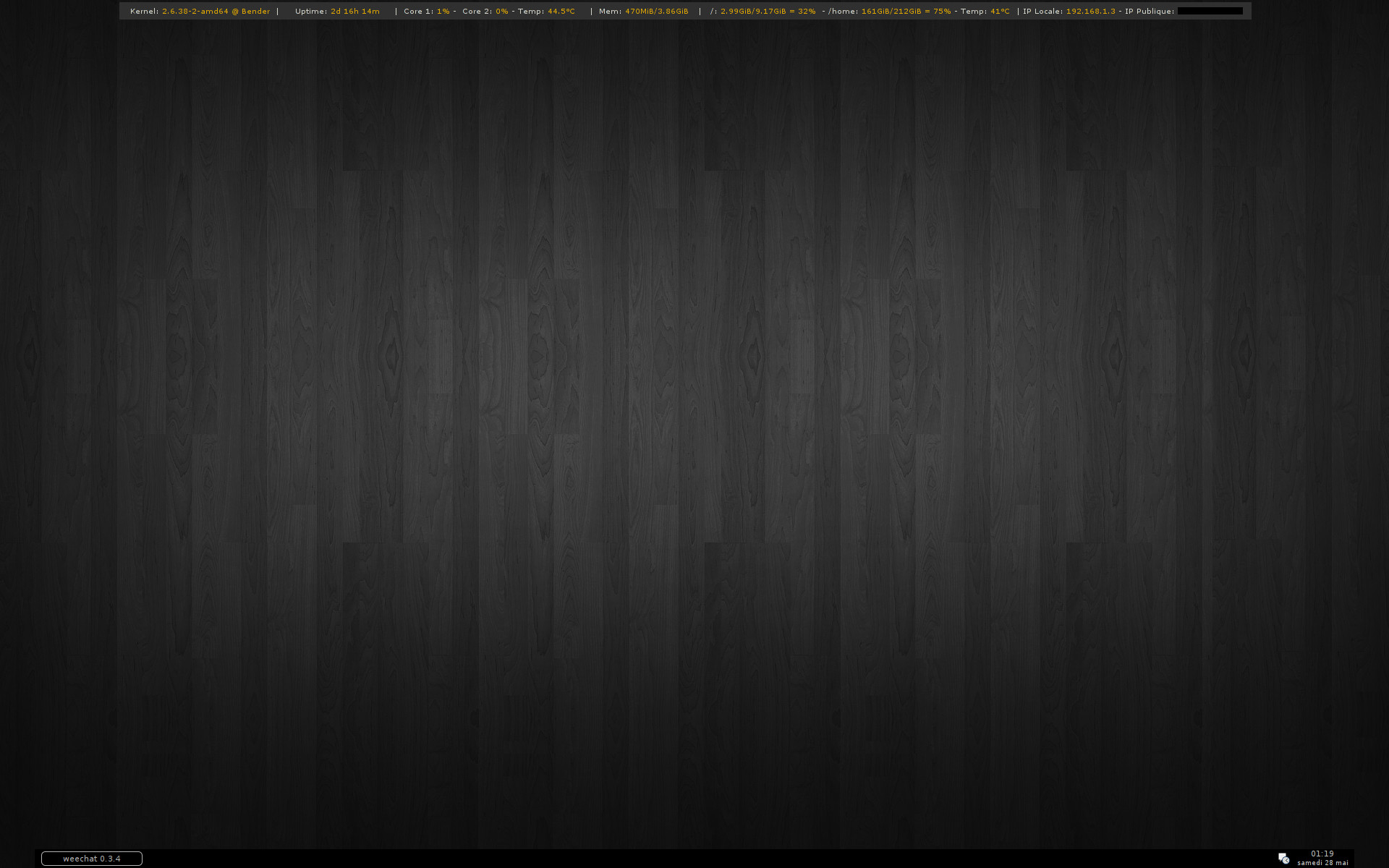 Fullsize Of Black Wood Wallpaper
