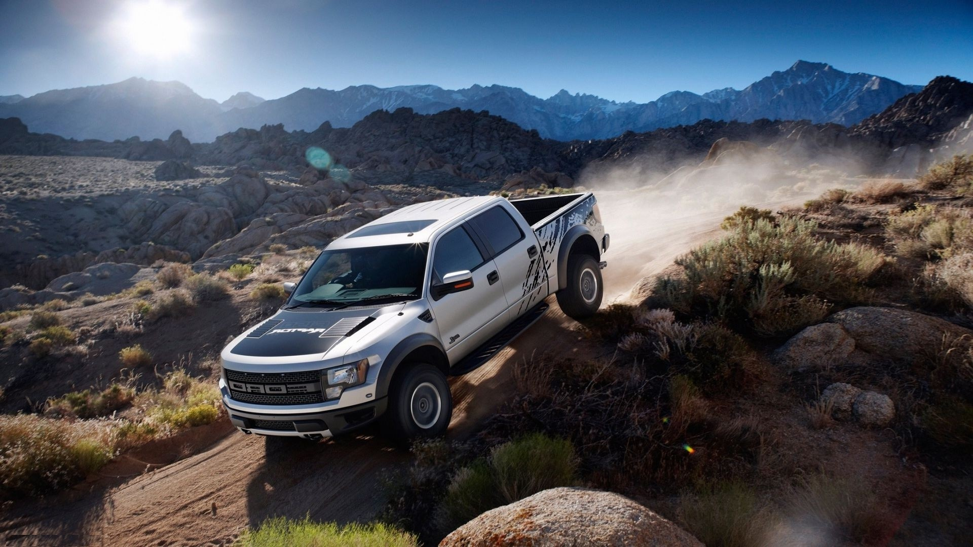 Lifted Truck Iphone Wallpaper Ford Raptor Wallpaper Hd 74 Images
