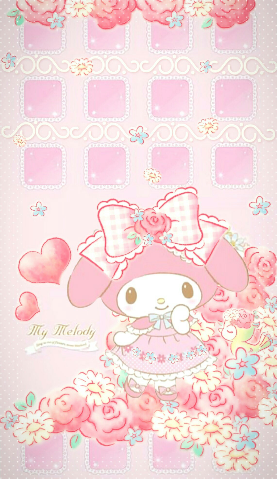 Cute Sweet Wallpapers For Phone My Melody Wallpaper For Iphone 76 Images