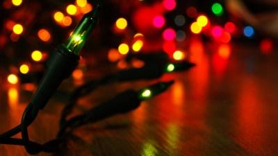 Christmas Lights Wallpapers and Screensavers (72+ images)