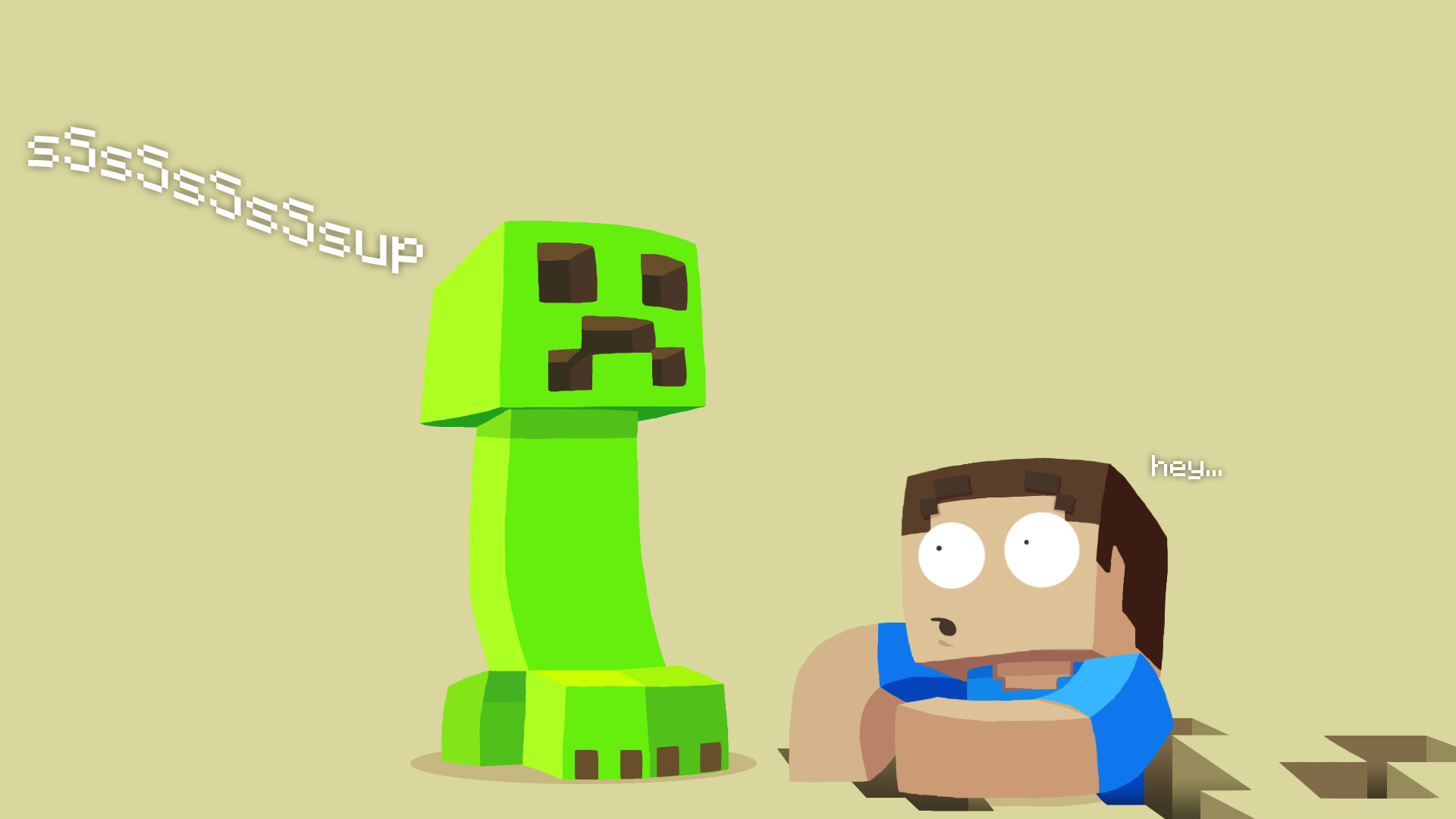 Creeper Wallpaper Hd Funny Minecraft Backgrounds 68 Images