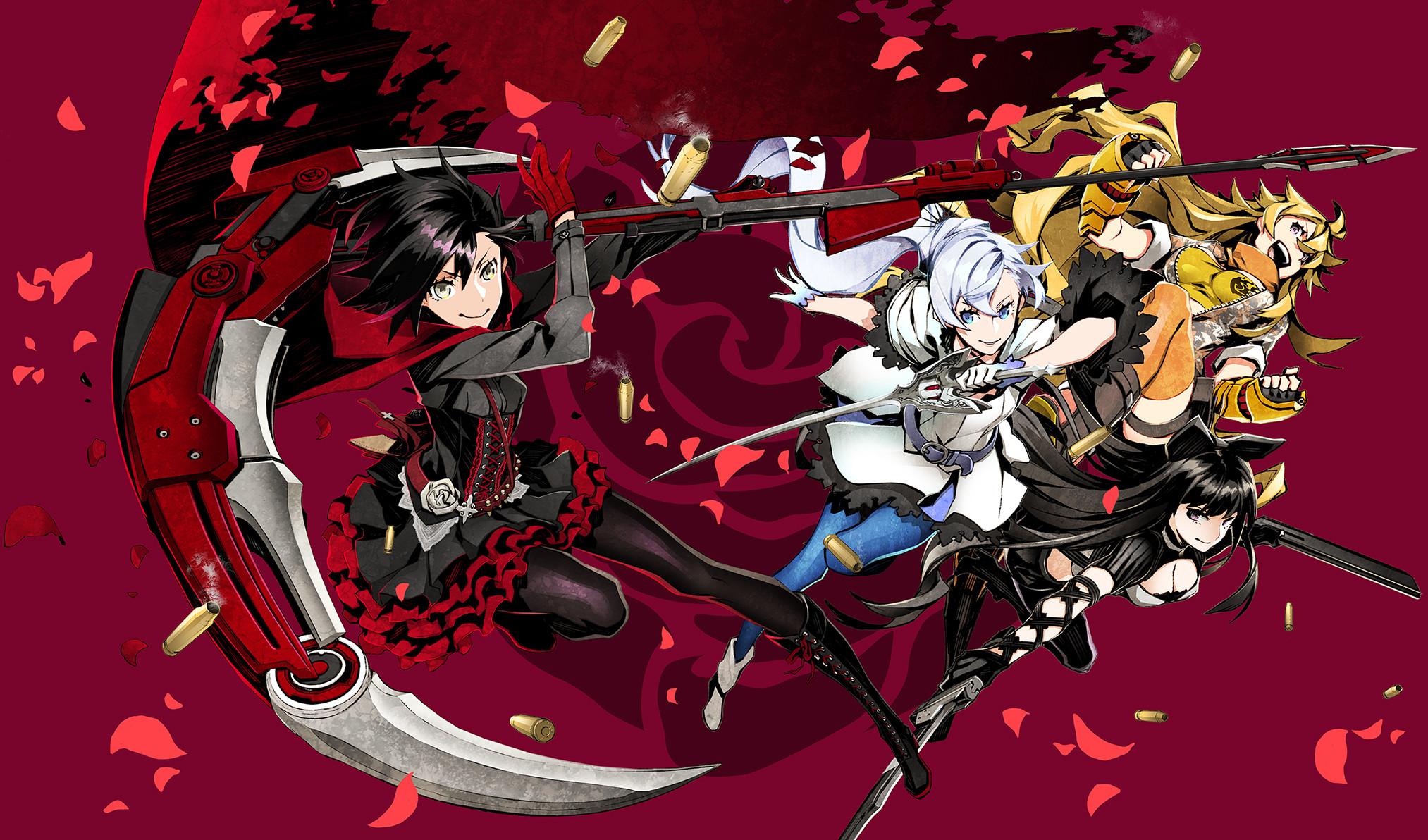 Anime Girl Epic Wallpapers Rwby Yang Wallpaper 70 Images