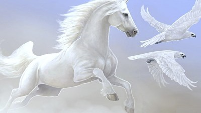 White Horse Wallpaper (68+ images)