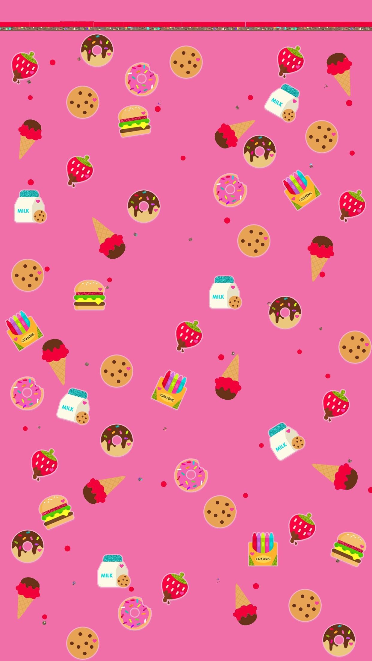 Pusheen Iphone Wallpaper Cute Kawaii Phone Wallpapers 83 Images