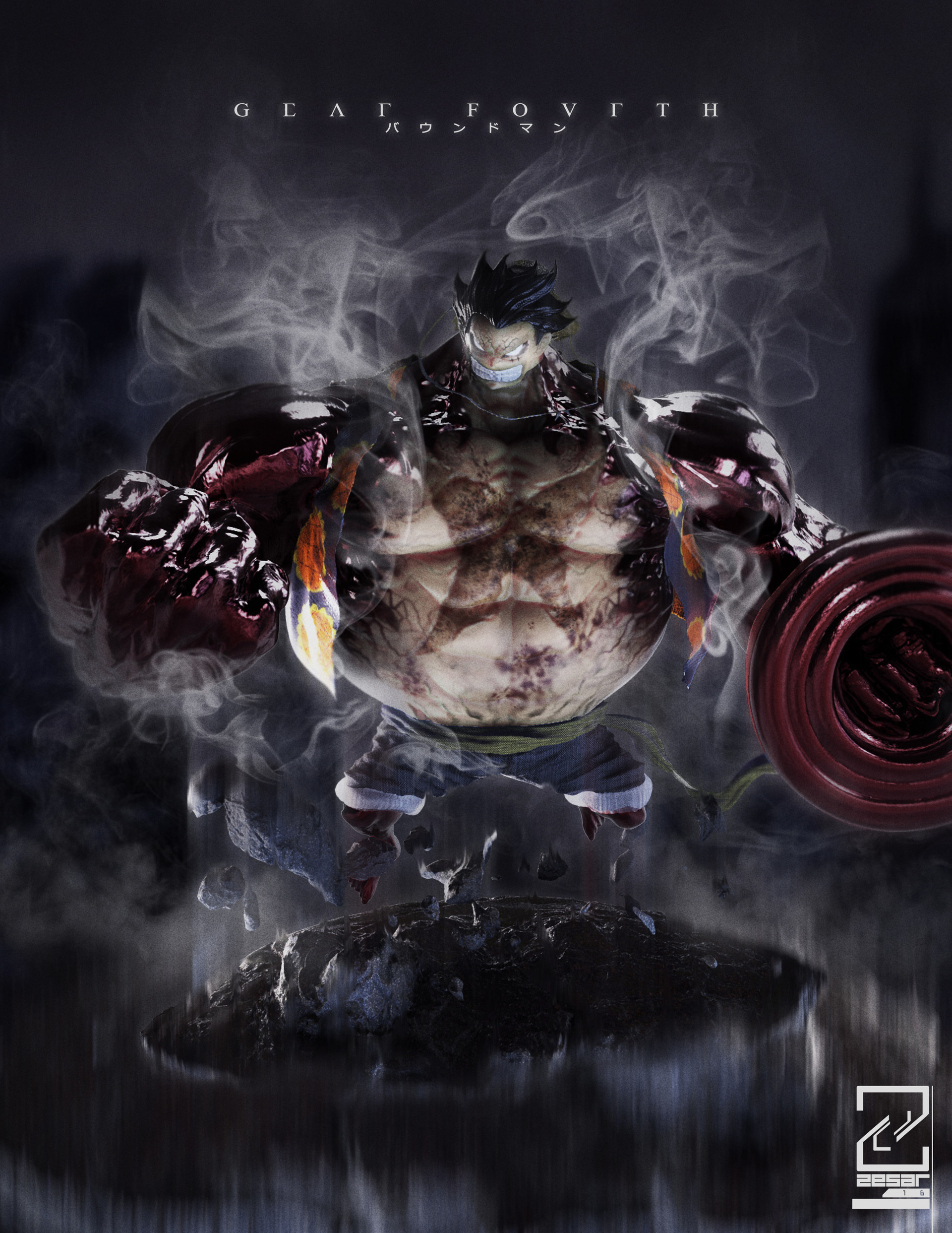 Monkey D Luffy 3d Wallpaper Gear Fourth Wallpapers 66 Images