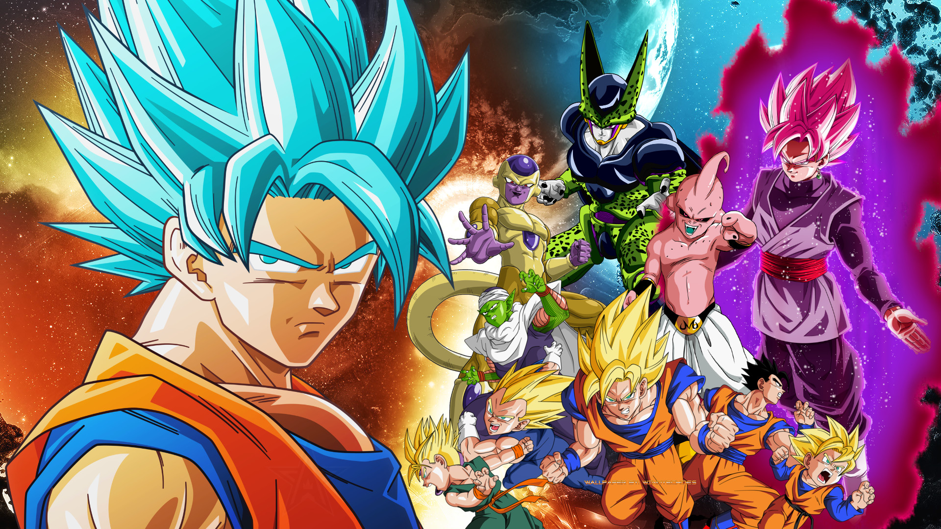 3d Wallpaper Of Dragon Ball Z Dragon Ball Z 1080p Wallpaper 64 Images